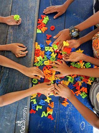 Progagande active Ouverture d'une classe théâtre à  l'AKD School de Battambang au Cambodge