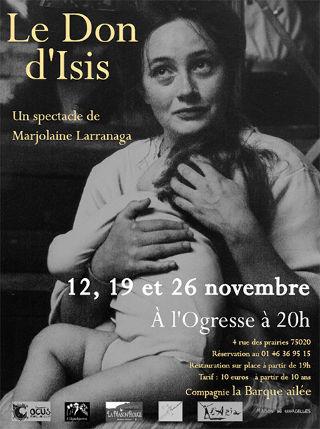 Soutien solidaire Le don d'Isis