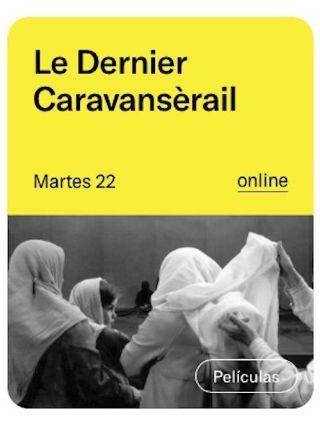 Écouter / voir Le Dernier Caravansérail au Festival FACYL#2020 de Salamanque