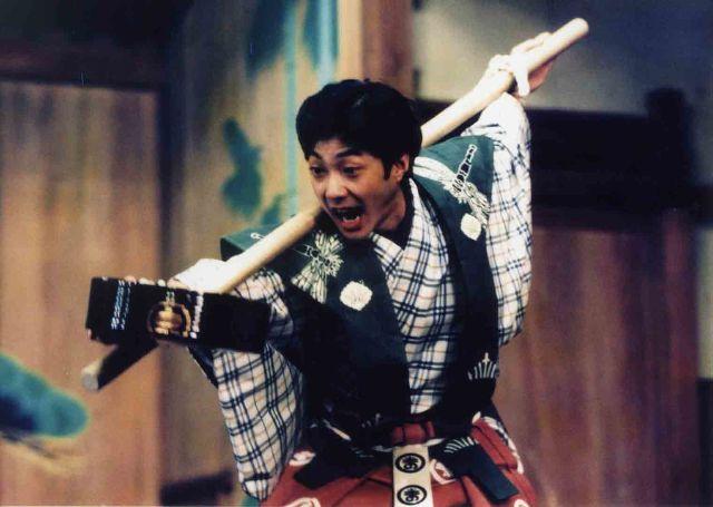 Boshibari © Mansaku no Kai Kyogen Company Archives