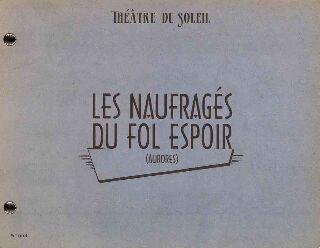livre Les Naufragés du Fol Espoir (Aurores) 2010