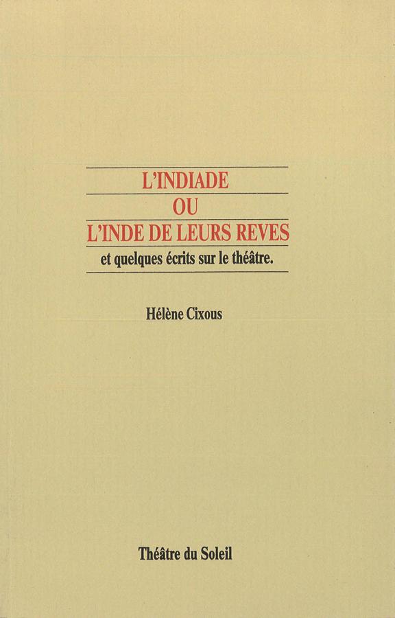 livre L'Indiade, ou l'Inde de leurs rêves en français