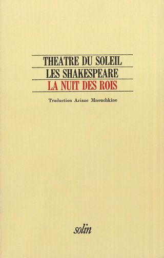 livre La Nuit des rois 1982