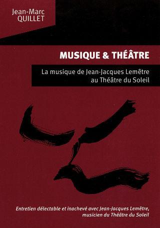livre Musique et Théâtre 2013