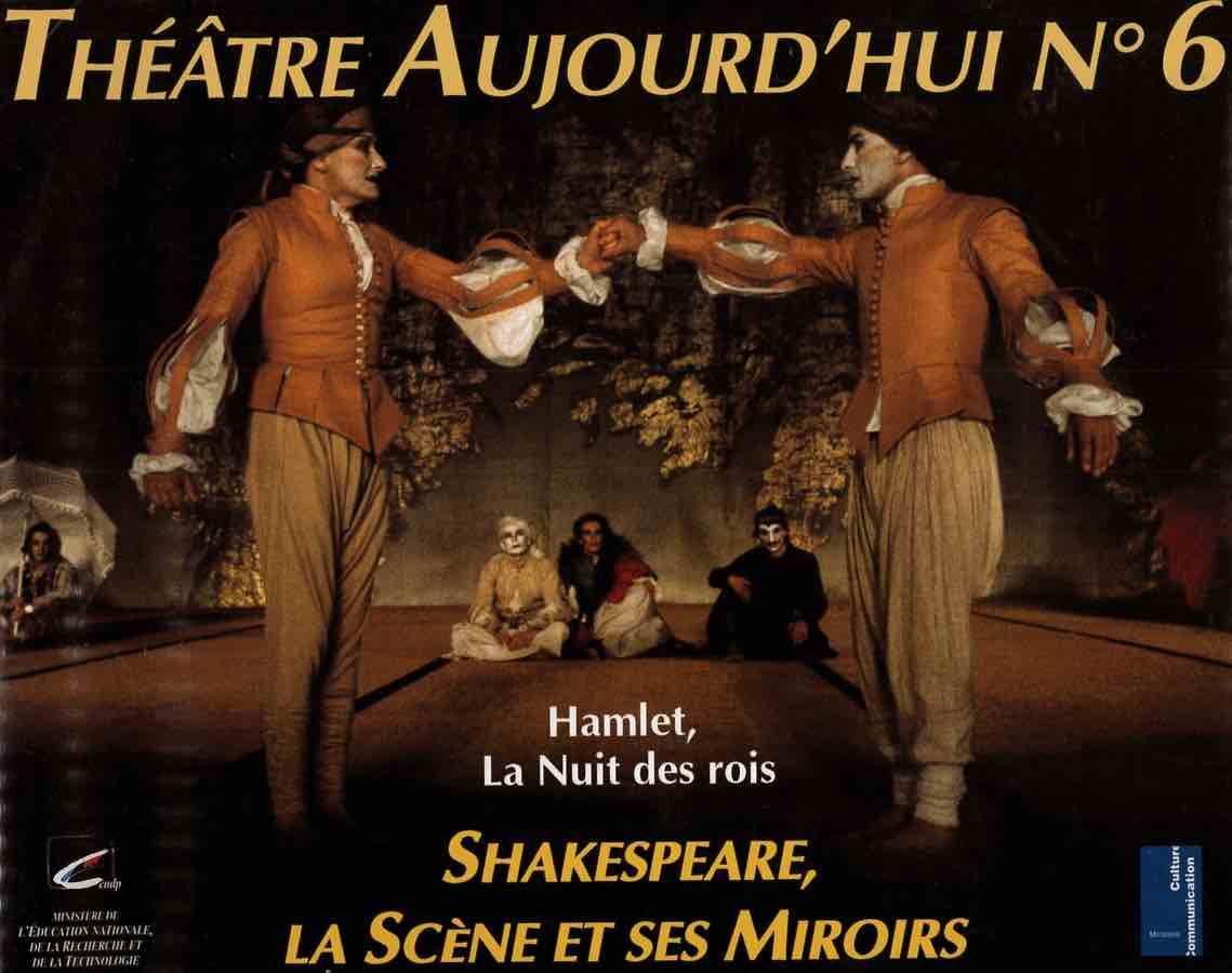 livre Théâtre Aujourd'hui n°6 en français