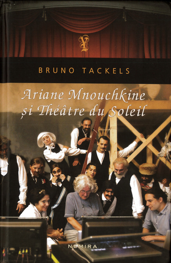 livre Ariane Mnouchkine si Théâtre du Solel en roumain