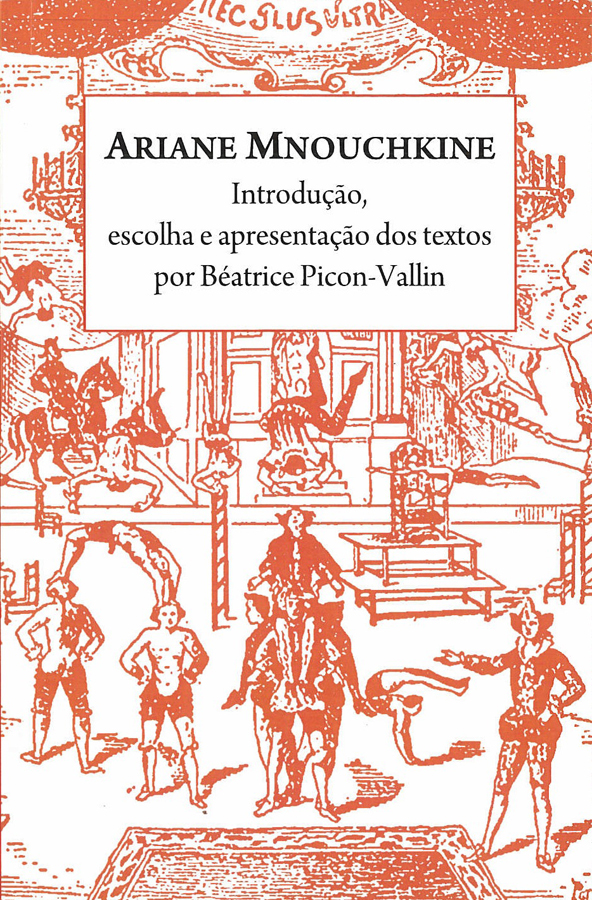 livre Ariane Mnouchkine en portugais