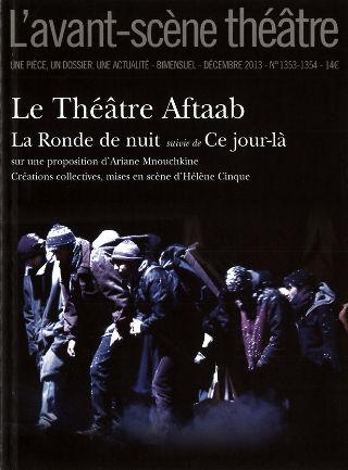 livre L'Avant-scène théâtre 2013