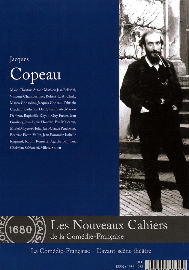 livre Jacques Copeau en français