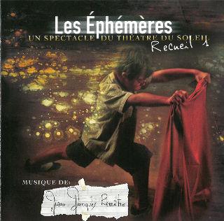 couverture Audio Les Ephémères - recueil 1 2006
