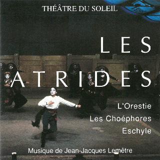 couverture Audio Les Choéphores 1992