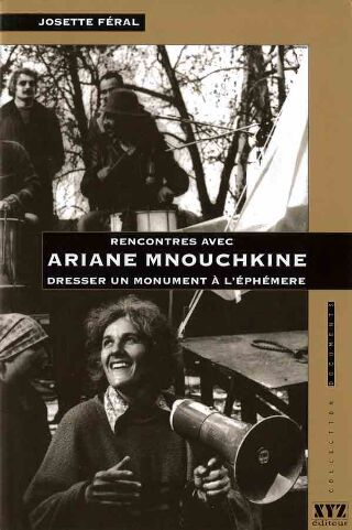 livre Dresser un monument à l'éphemere 1995
