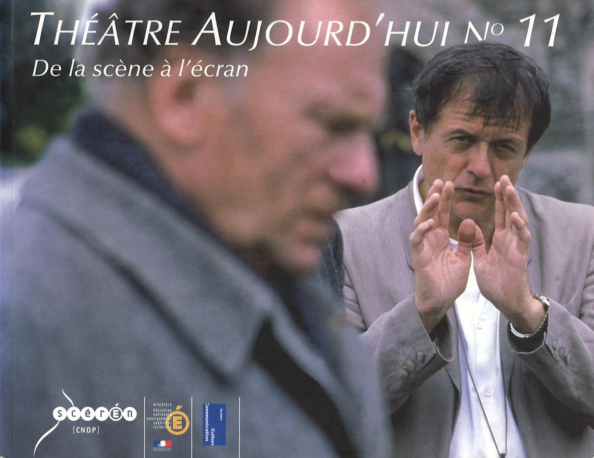 livre Théâtre aujourd'hui n°11 en français