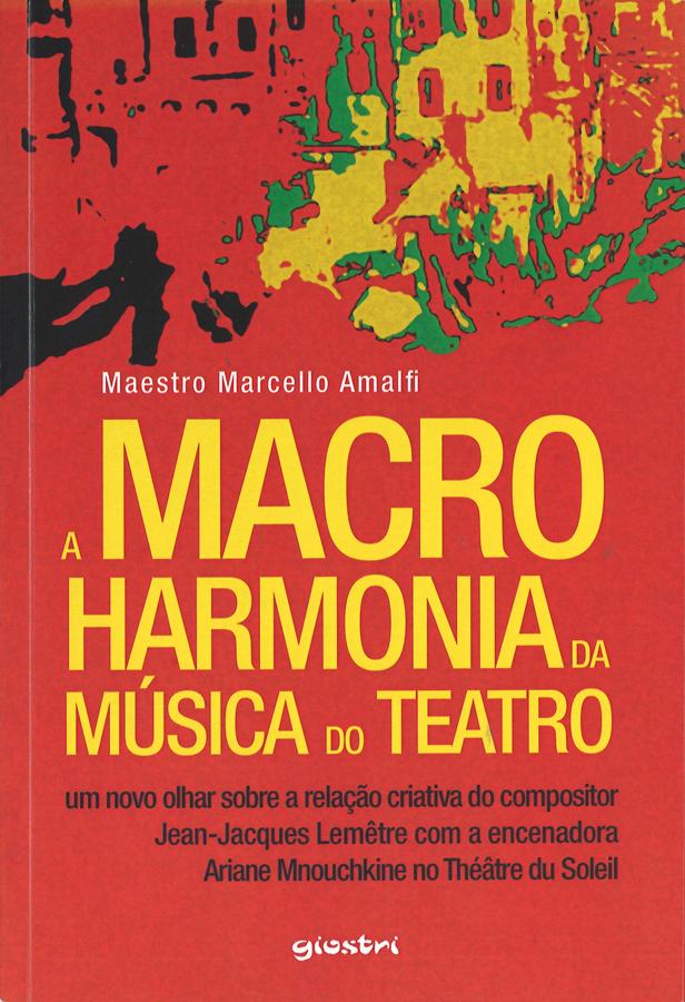 livre A macro harmonia da musica do teatro en portugais