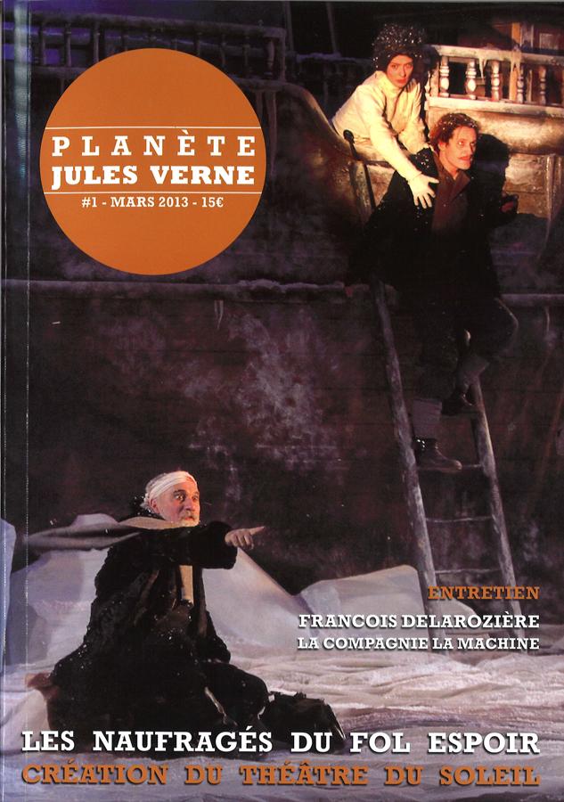 livre Planète Jules Verne, N° 1 en français