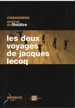 couverture Film Les deux voyages de Jacques Lecoq 1998