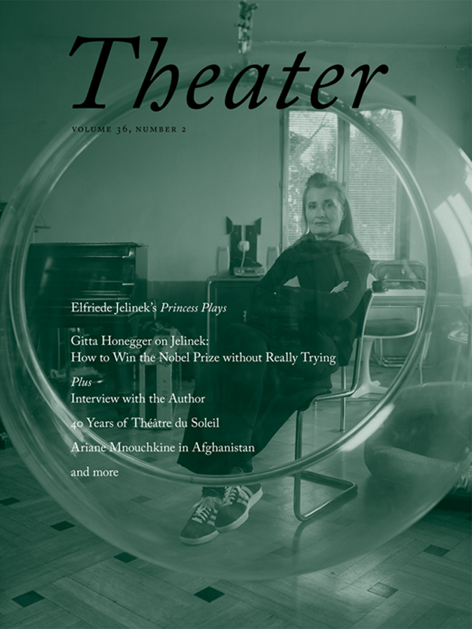livre Theater Magazine  en anglais