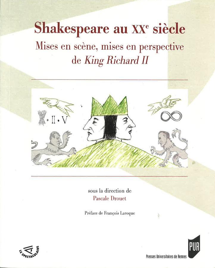 livre Shakespeare au XXe siècle en français