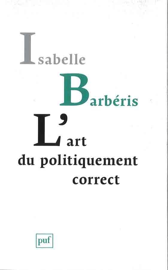 livre L'Art du politiquement correct en français