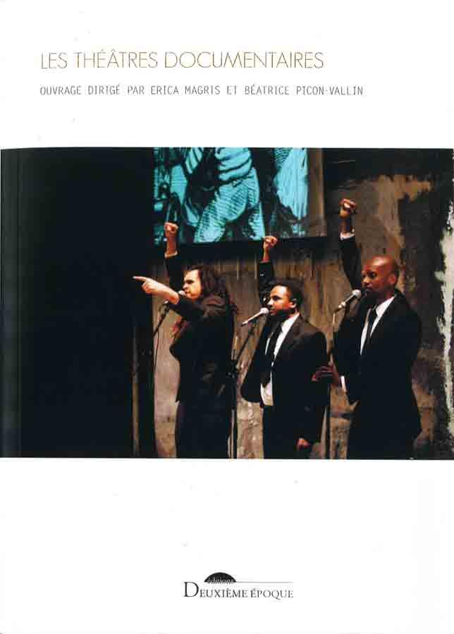 livre Les Théâtres documentaires   en français