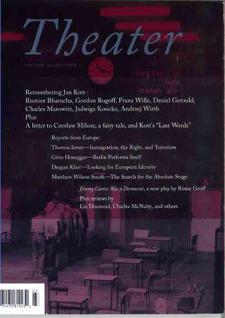 livre Theater 2002
