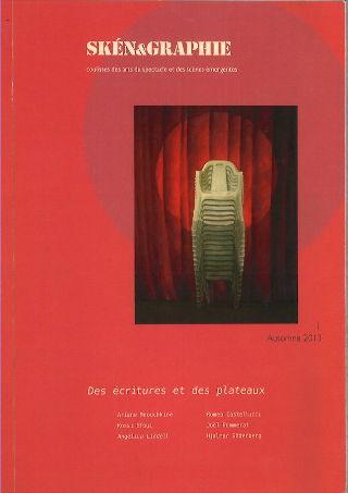livre Skén&graphie n°1 2014
