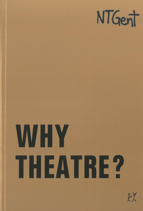 livre Why Theatre ? en anglais
